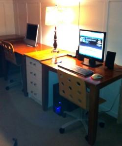 The new setup